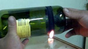 botella de vidrio para vino
