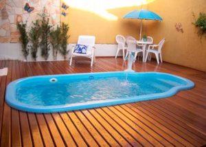 piscinas de fibra de vidrio usadas