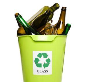 reciclaje de vidrio y cristal