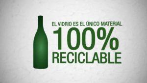 reciclaje de vidrio para niños