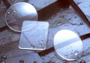 vidrio de reloj uso laboratorio