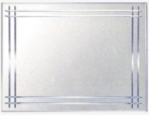 vidrio esmerilado